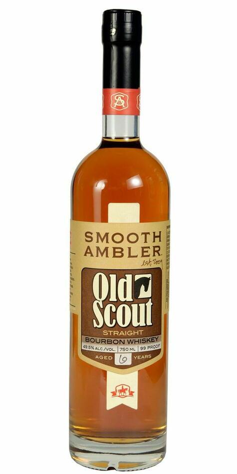 Image of   Smooth Ambler Old Scout 7 Yo Bourbon Fl 70
