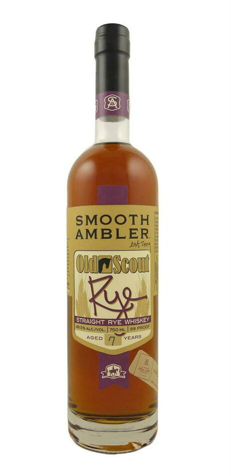 Image of   Smooth Ambler Old Scout Rye Whiskey Fl 70