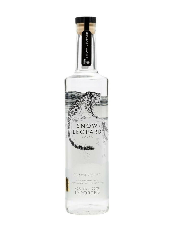 Image of   Snow Leopard Vodka Fl 70