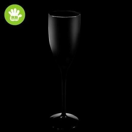 Champagne Glas Sort 15 Cl