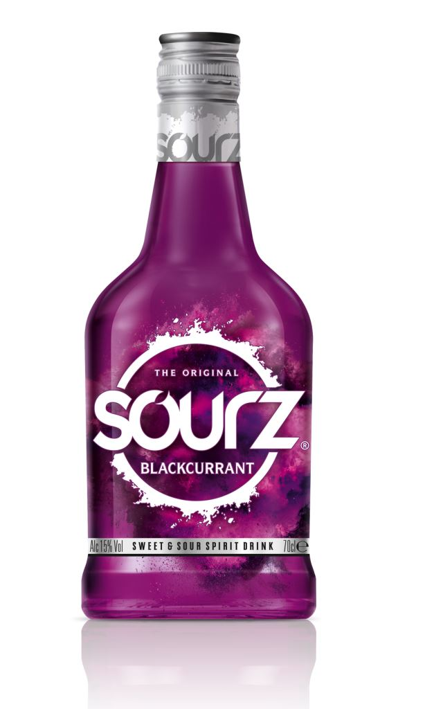 Sourz Blackcurrant / Solbær Fl 70