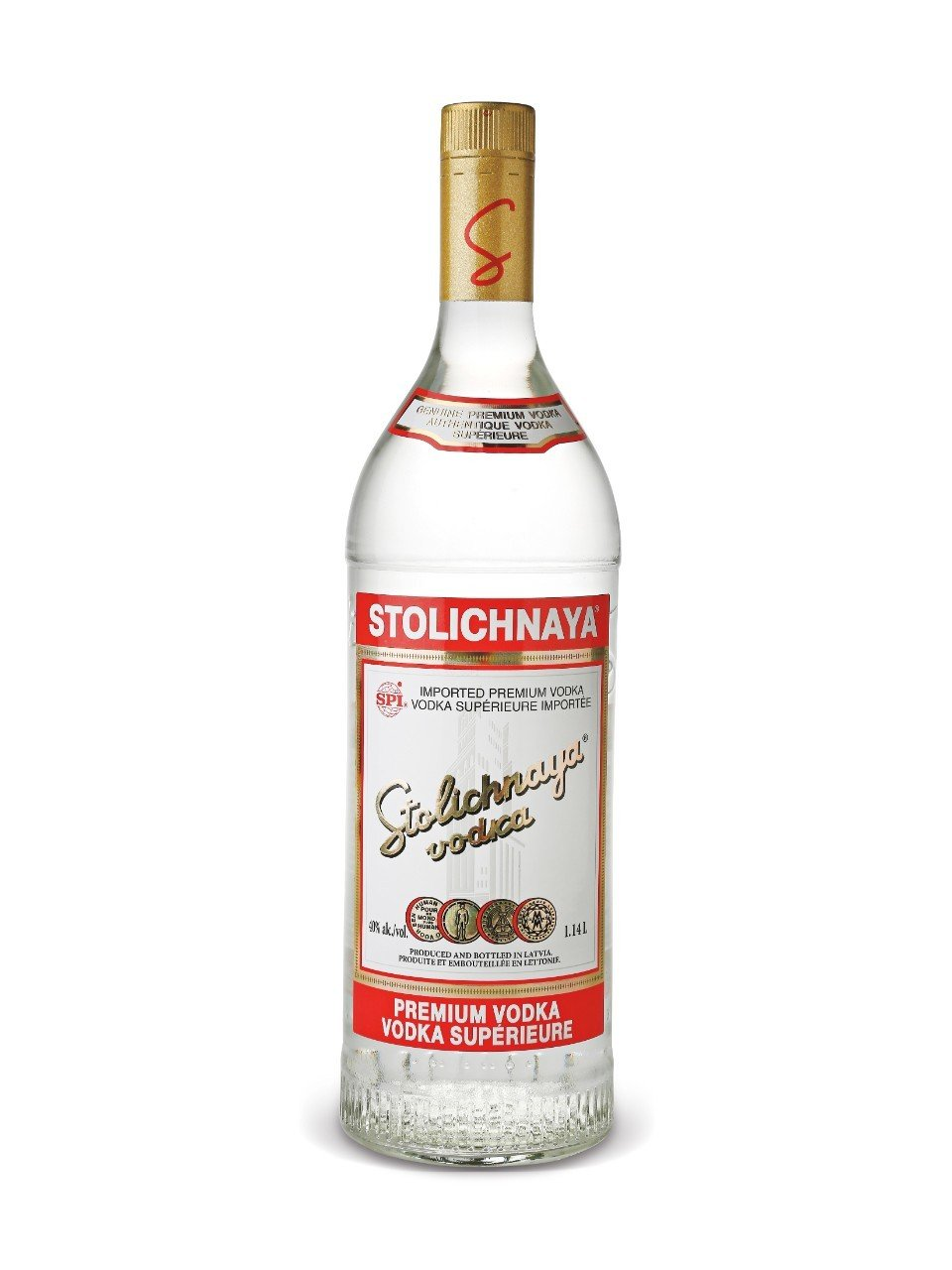 Image of   Stolichnaya Vodka Original Fl 70