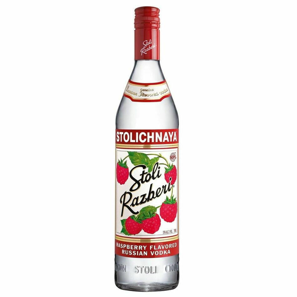 Image of   Stolichnaya Vodka Razberi Fl 70