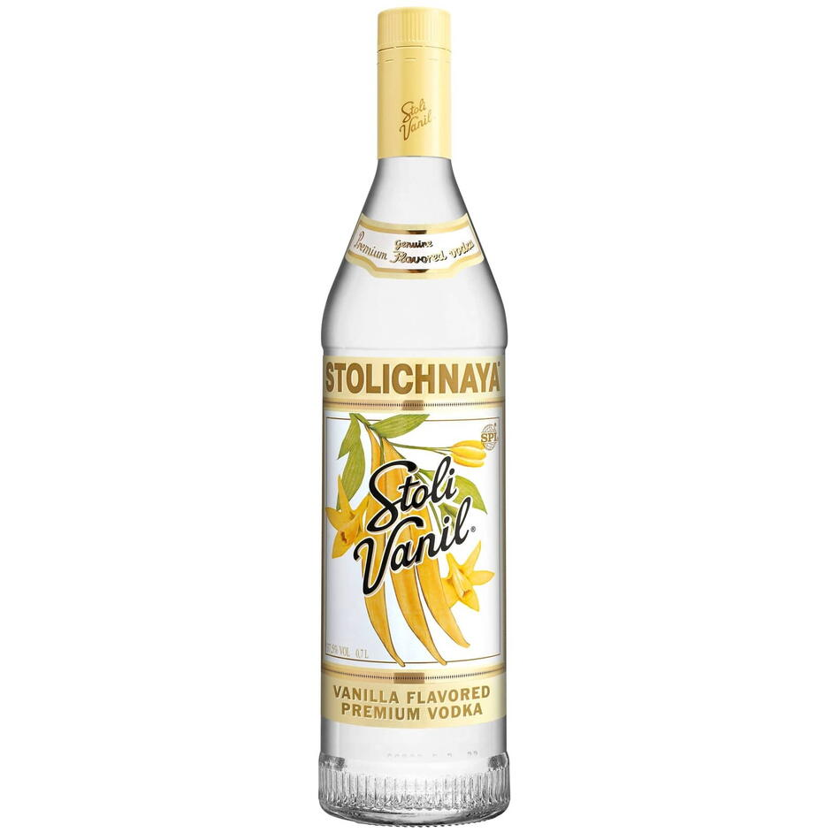 Image of   Stolichnaya Vodka Vanil Fl 70