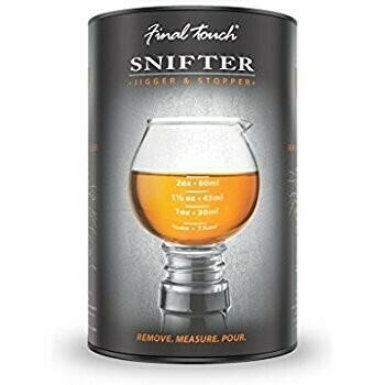 Image of   Jigger Snifter Final Touch