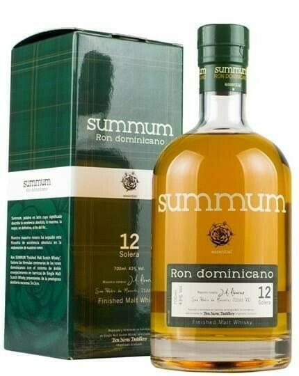 Billede af Summum Ron Dominicano Malt Whisky Cask Finish FL 70