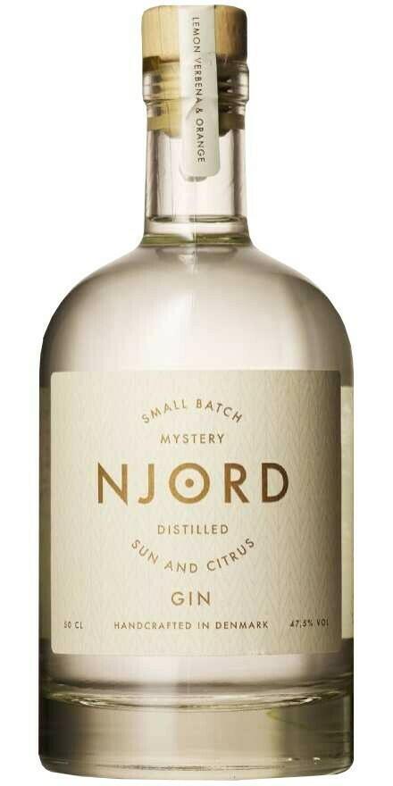 """Njord """"Sun & Citrus"""" Gin Fl 50"""
