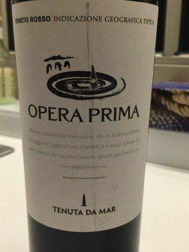 """Tenuta Da Mar, """"Opera Prima"""" Pinot Grigio Fl 75"""