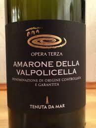 """Tenuta Da Mar, """"Opera Terza"""" Ripasso 2013 Fl 75"""