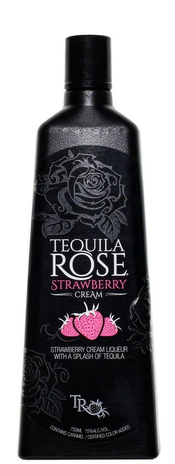 Image of   Rose Tequila Stberry Cream Liqueur Fl 50