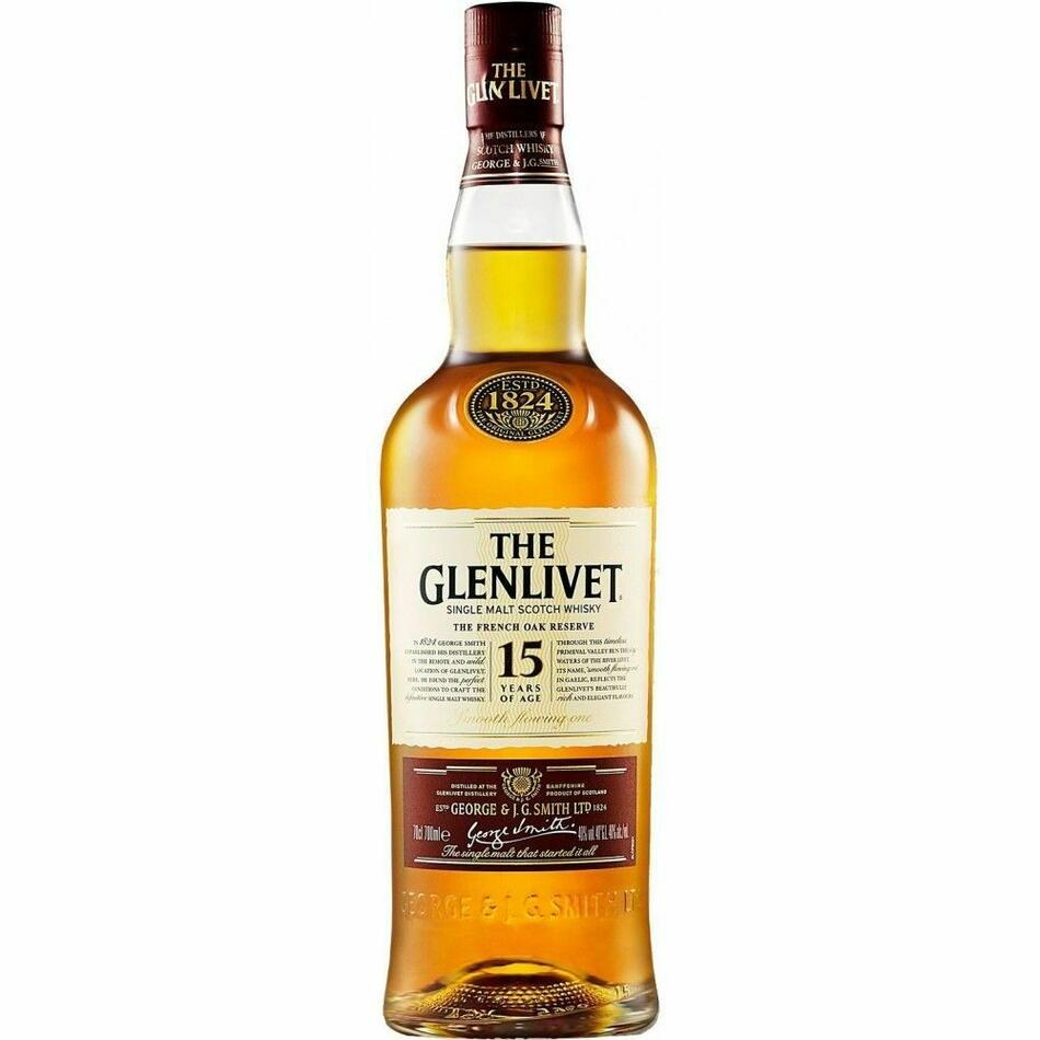 Image of   The Glenlivet 15 Yo Speyside Single Malt Fl 70cl