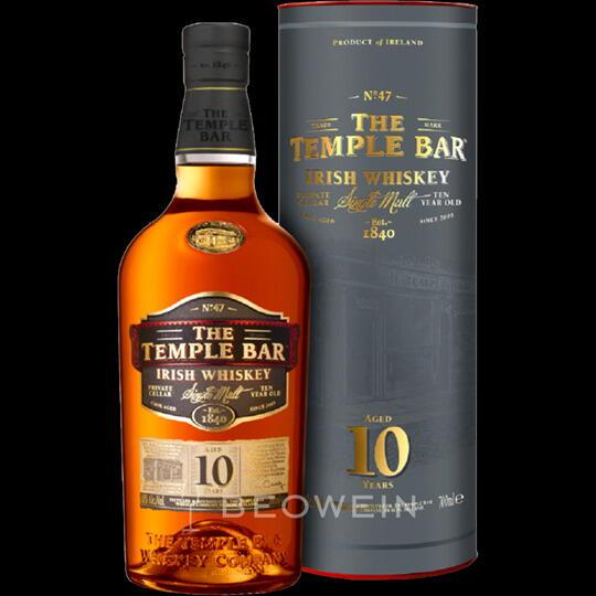 Image of   The Temple Bar 10 Yo Irish Whiskey Fl 70