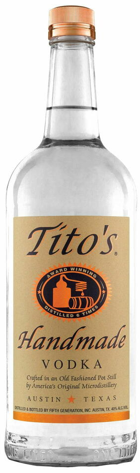 Image of   Tito's Handmade Vodka Fl 70