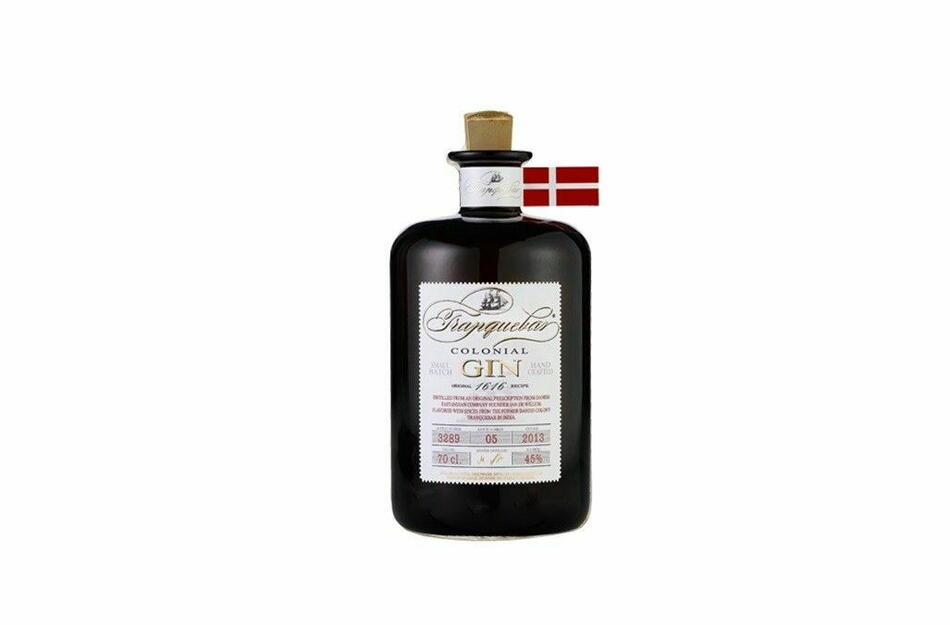 Tranquebar Colonial Dry Gin Fl 70