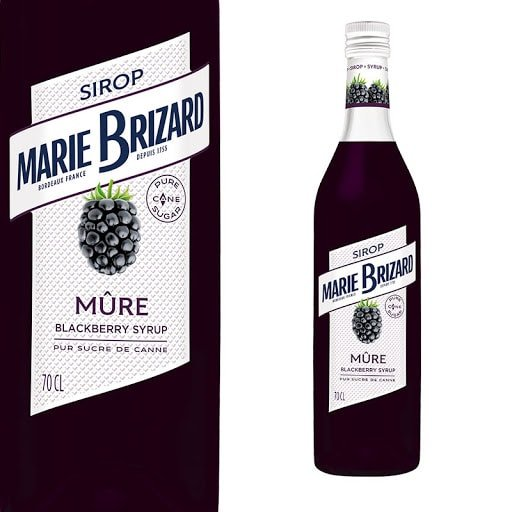 Image of   Marie Brizard Sirup Blackberry / Brombær Fl 70