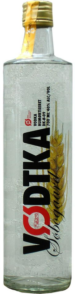 Vødtka Økologisk Vodka Fl 70