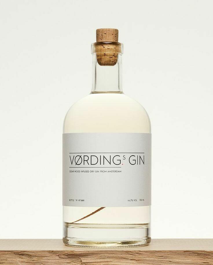 Image of   Vørding's Gin Fl 70cl