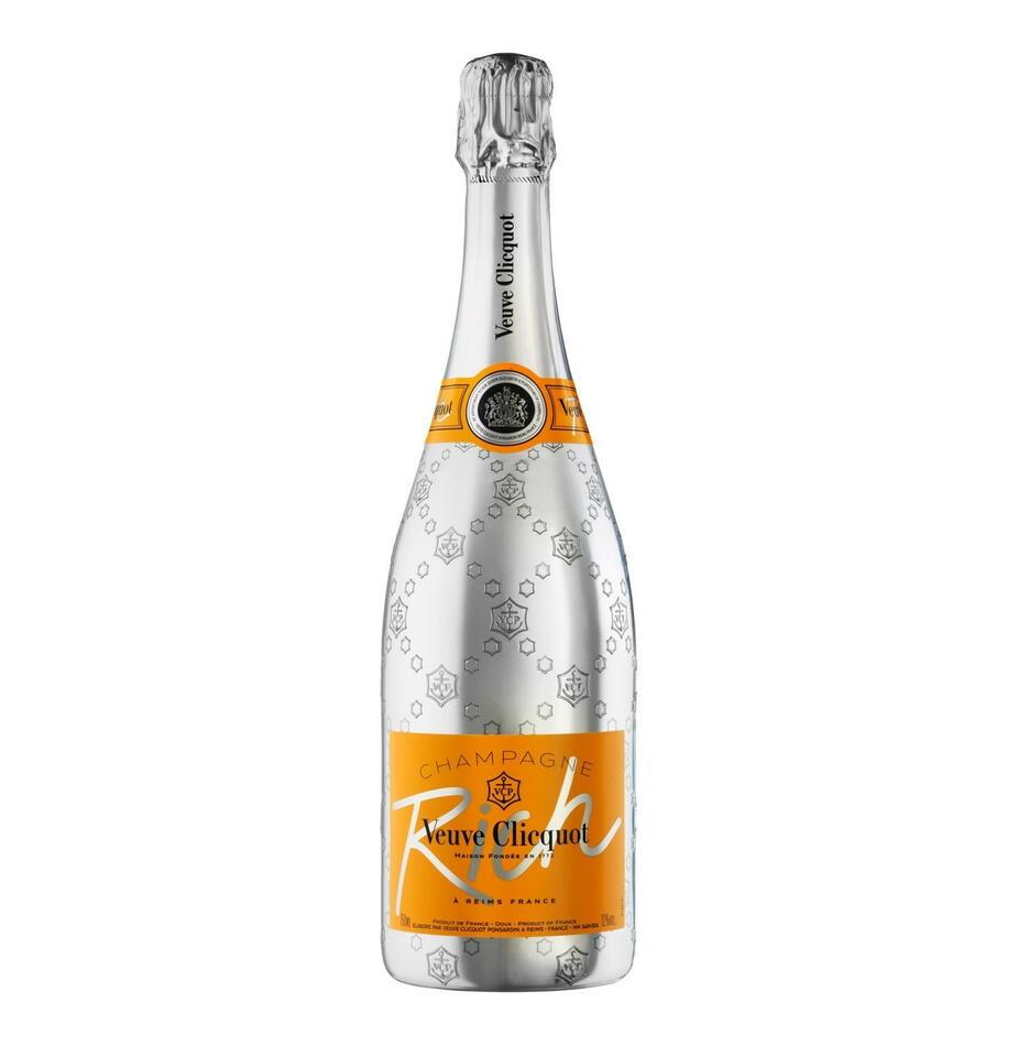 Veuve Clicquot Champagne Rich Fl 75