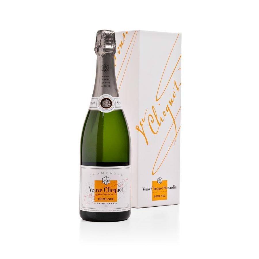 Image of   Veuve Clicquot Champagne Sec (Giftbox) Fl 75