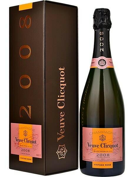 Veuve Clicquot Champagne Vintage Rosé 2004 Fl 75