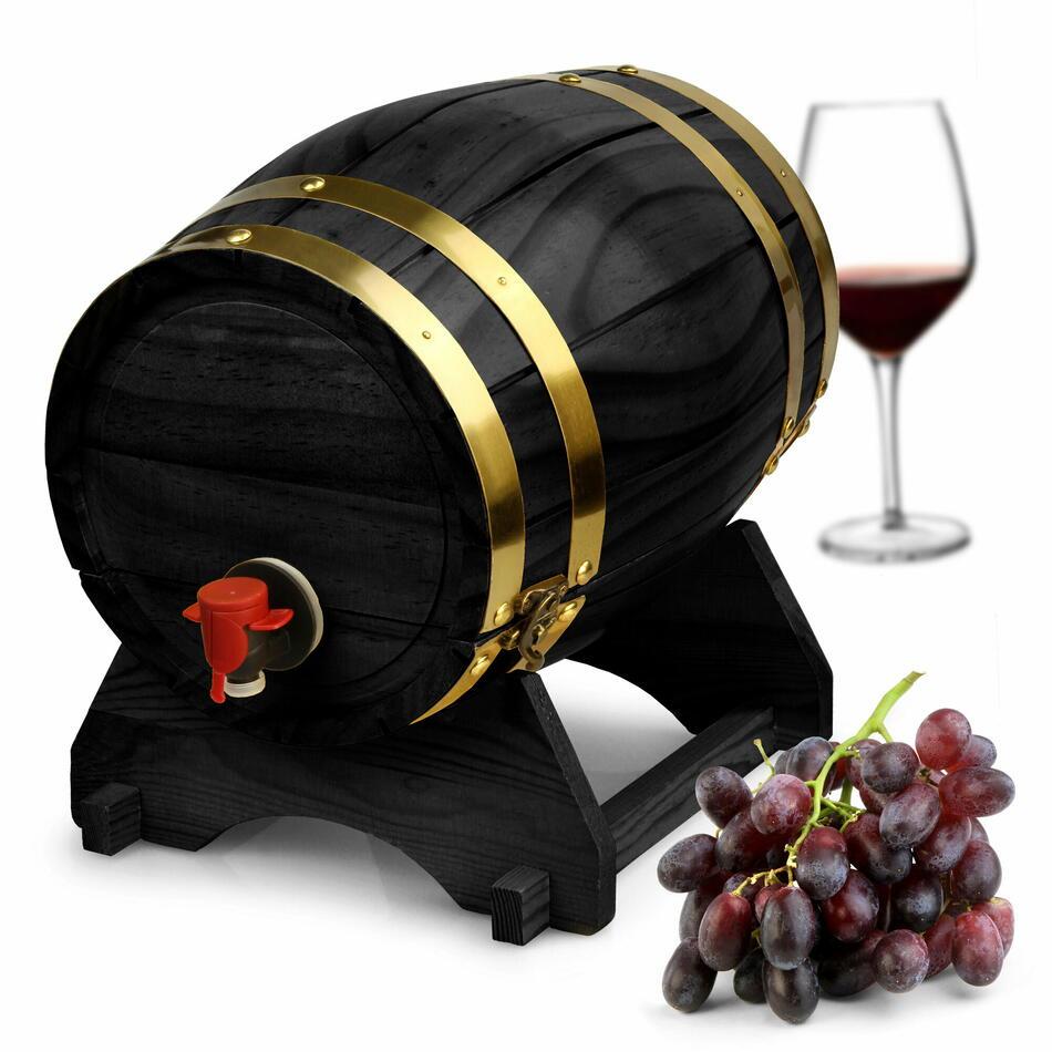 Billede af DRINKSTUFF, Vin Dispenser Sort 5ltr