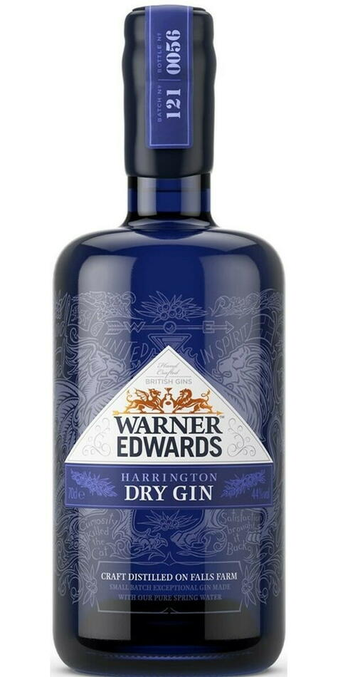 Warner Edwards Harrington Dry Gin Fl 70