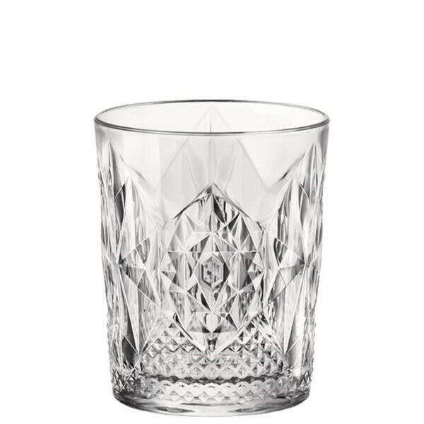 Image of   Whisky Glas Stone, Dof, Bormioli Rocco - 390ml 6stk.
