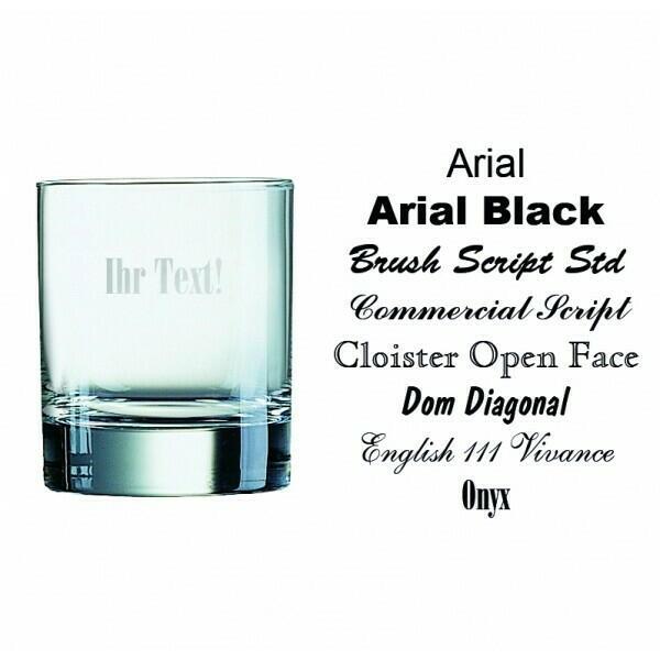 Whisky Island Glas - 200ml Med Personligt Design