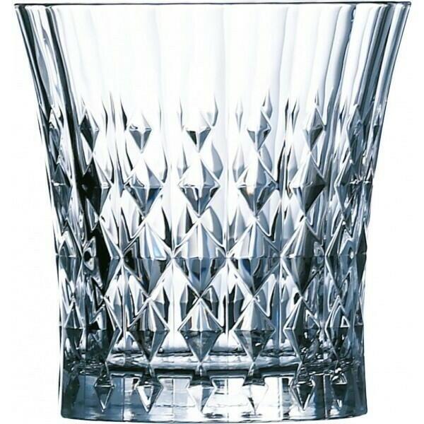 Image of   Diamond Whisky Tumbler Lady Dind 270ml 6stk