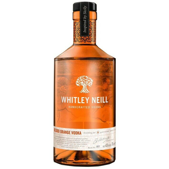Whitley Neill Blood Orange Vodka Fl 70
