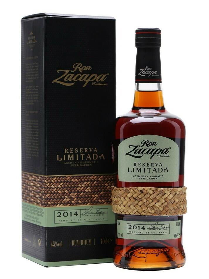 Zacapa Reserva Limitada 2014 Fl 70