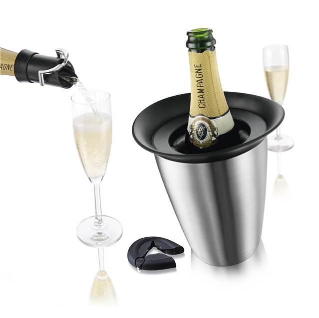 Champagne Sæt - Vacu Vin