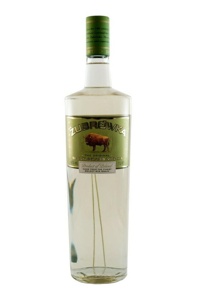 Image of   Zubrowka Bison Grass Vodka* Fl 100