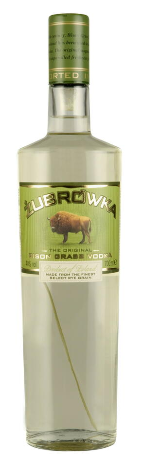 Image of   Zubrowka Bison Grass Vodka Fl 70