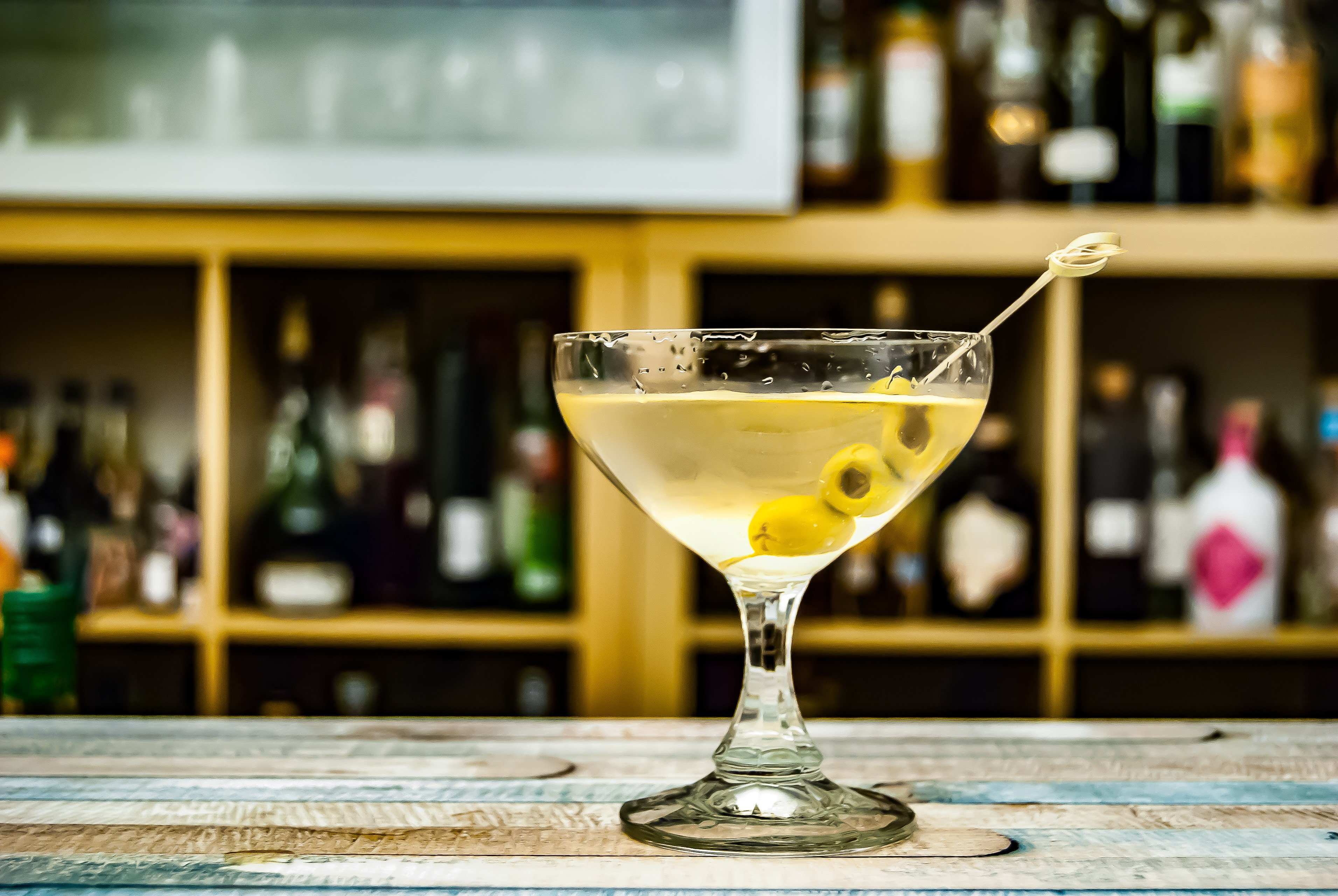 Den klassiske 007 drink - Dry Martini