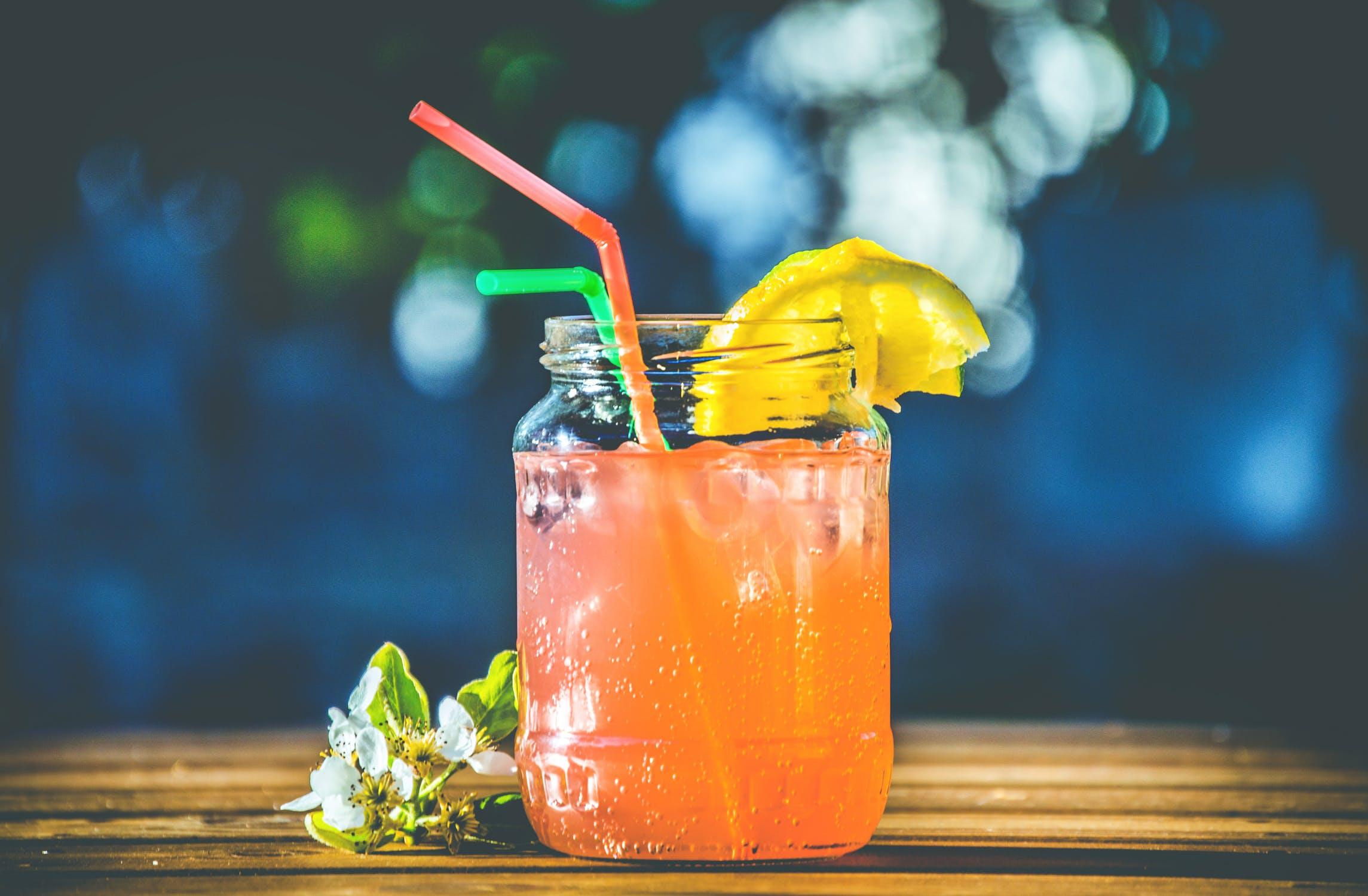 Sugerøret er en vigtig del af en drink