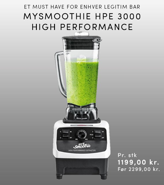 MYSMOOTHIE HPE3000 HIGH PERFORMANCE - HVID