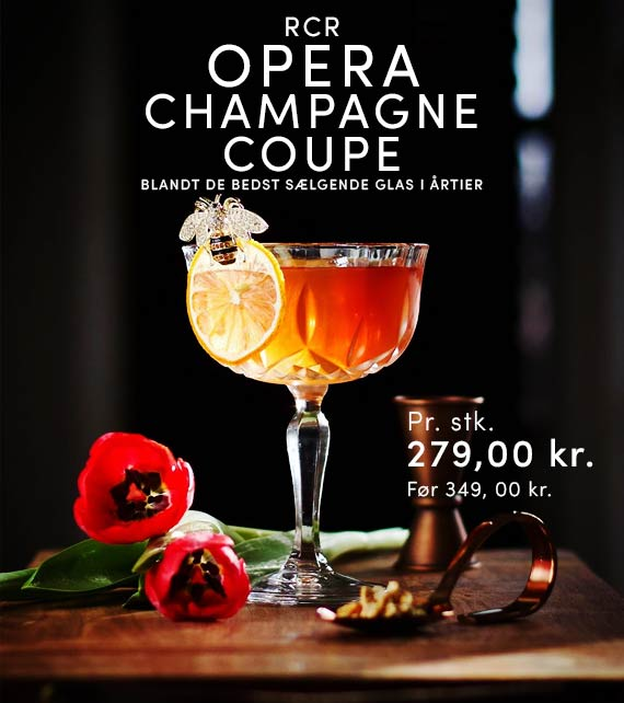 RCR OPERA CHAMPAGNE COUPE 24 CL 6STK.