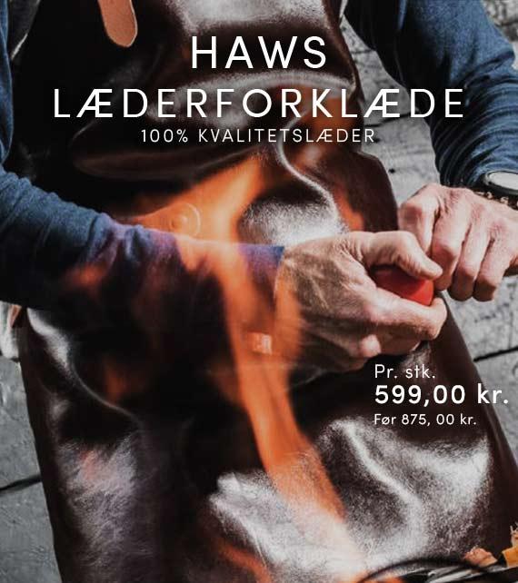 Haws læder forklæde
