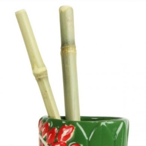 sugerør i bambus